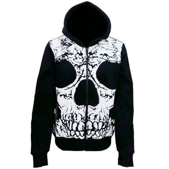 Herren Hoodie To The Wire BANNED HBN055R/BLK/WHT, BANNED