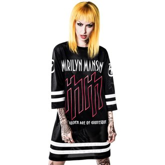 Unisex T-shirt Jersey Marilyn Manson - Use Your Fist Hockey Team - KILLSTAR, KILLSTAR, Marilyn Manson