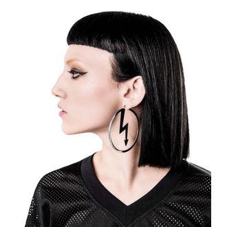 Ohrringe KILLSTAR x MARILYN MANSON - Number 7 - Silber, KILLSTAR, Marilyn Manson
