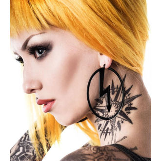 Ohrringe KILLSTAR x MARILYN MANSON - Number 7 - Schwarz, KILLSTAR, Marilyn Manson