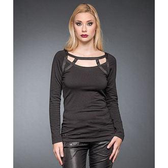Damen T-Shirt mit langen Ärmeln QUEEN OF DARKNESS, QUEEN OF DARKNESS