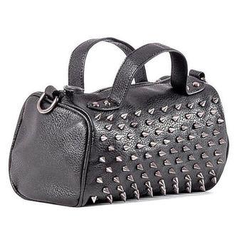 Handtasche (Tasche) QUEEN OF DARKNESS - Schwarz und Silber, QUEEN OF DARKNESS