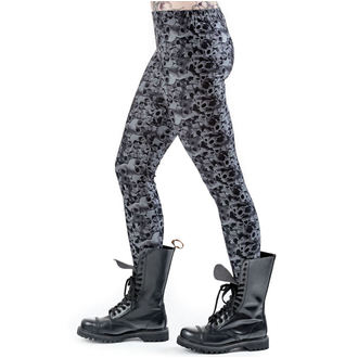 Damen Hose(Leggings) QUEEN OF DARKNESS - Skulls and Roses, QUEEN OF DARKNESS