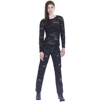 Damen Hose QUEEN OF DARKNESS - Schwarz