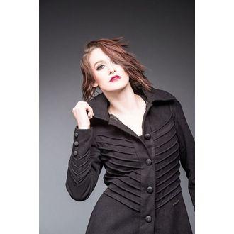 Damen Mantel QUEEN OF DARKNESS - Decorative Stitching