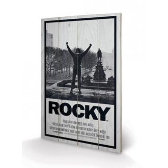 Holz Bild Rocky I, PYRAMID POSTERS