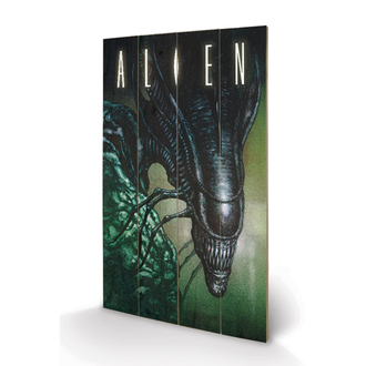Holz Bild Alien - Creep - Pyramid Posters, PYRAMID POSTERS, Alien - Vetřelec