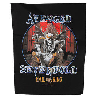Aufnäher groß Avenged Sevenfold - HAIL TO THE KING - RAZAMATAZ, RAZAMATAZ, Avenged Sevenfold