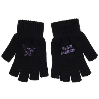 Handschuhe Black Sabbath - PURPLE LOGO & DEVIL - RAZAMATAZ, RAZAMATAZ, Black Sabbath
