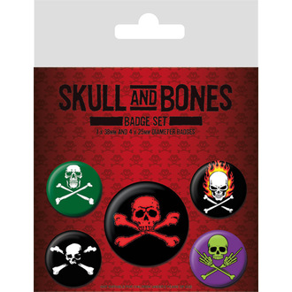 Abzeichen Skull and Bones, PYRAMID POSTERS