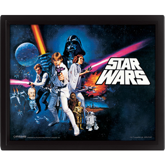 3D Bild Star Wars - A New Hope, PYRAMID POSTERS