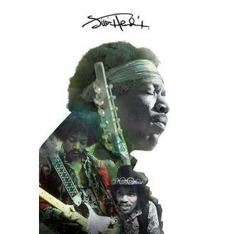 Poster Jimi Hendrix - Double Exposure, PYRAMID POSTERS, Jimi Hendrix