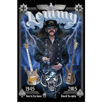 Poster Mötorhead - Lemmy - Commemorative, PYRAMID POSTERS, Motörhead