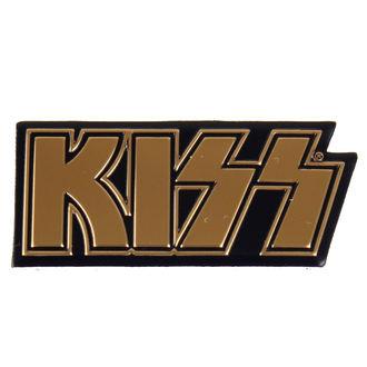 Kleiner Aufkleber (Metal) KISS - Logo, C&D VISIONARY, Kiss