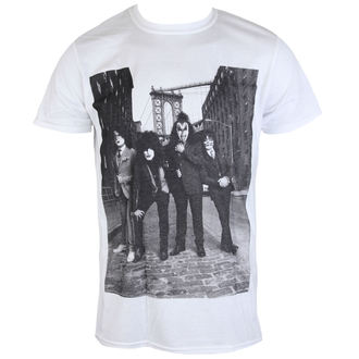 Herren Metal T-Shirt Kiss - B&W CITY - LIVE NATION, LIVE NATION, Kiss