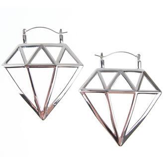 Ohrringe INOX - 20G DIAMOND, INOX