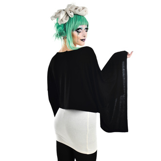 Damen Gothic and Punk T-Shirt - COVEN CAPE - TOO FAST, TOO FAST