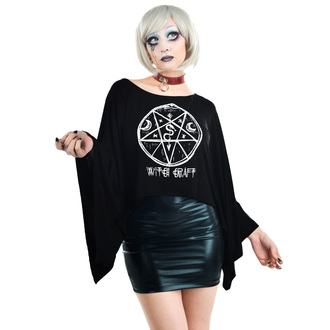 Damen Gothic T-Shirt - COVEN CAPE - TOO FAST, TOO FAST