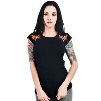 Damen Gothic T-Shirt - DAME - TOO FAST, TOO FAST