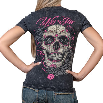 Damen T-Shirt - Calavera - WORNSTAR, WORNSTAR