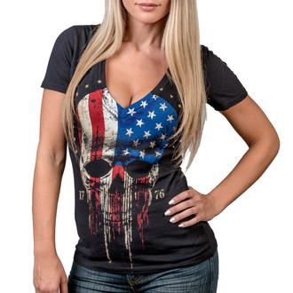 Damen T-Shirt - Americoma - WORNSTAR, WORNSTAR