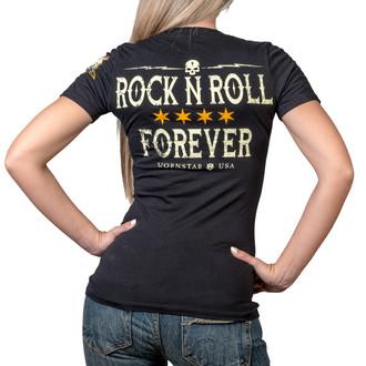 Damen T-Shirt - Rock N Roll Forever - WORNSTAR, WORNSTAR