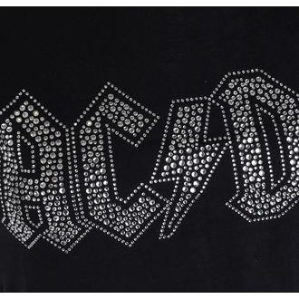 Damen Metal T-Shirt AC-DC - Logo - ROCK OFF, ROCK OFF, AC-DC