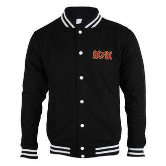 Herren Sweatshirt (ohne Kapuze) AC-DC - Classic Logo - ROCK OFF, ROCK OFF, AC-DC