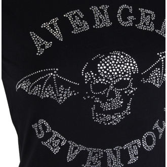 Damen Metal T-Shirt Avenged Sevenfold - Deathbat - ROCK OFF, ROCK OFF, Avenged Sevenfold