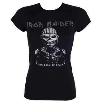 Damen Metal T-Shirt Iron Maiden - The Book Of Souls - ROCK OFF - IMDMTS02LB