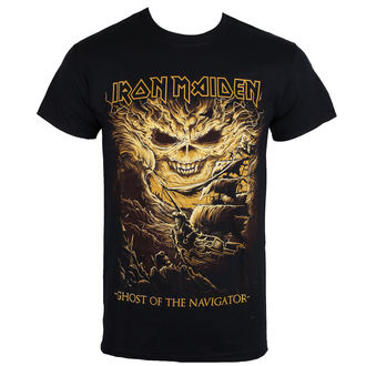 Herren Metal T-Shirt Iron Maiden - Ghost of the Navigator - ROCK OFF, ROCK OFF, Iron Maiden