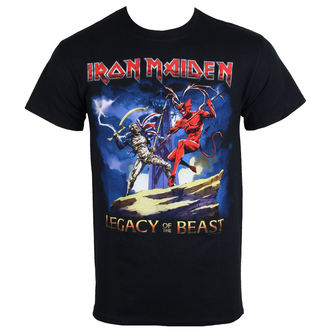 Herren Metal T-Shirt Iron Maiden - Legacy Beast Fight - ROCK OFF, ROCK OFF, Iron Maiden