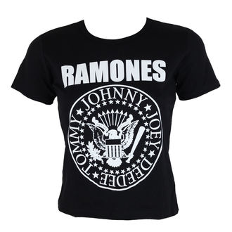 Damen Metal T-Shirt Ramones - Seal - ROCK OFF, ROCK OFF, Ramones