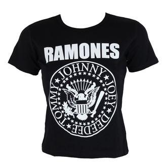 Damen Metal T-Shirt Ramones - Seal - ROCK OFF, ROCK OFF, Ramones