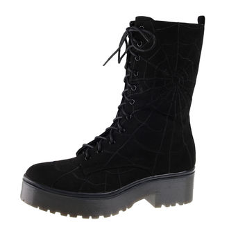 Keilstiefel  - Walking In My Web - IRON FIST - IFW005099-Black