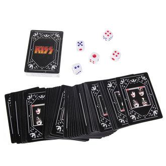 Spielkarten Set + Würfel KISS - Iconic, Kiss