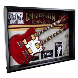 Gitarre mit Autogramm von Led Zeppelin - ANTIQUITIES CALIFORNIA - 136945
