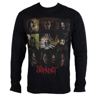 Herren Longsleeve Metal Slipknot - Blocks - ROCK OFF, ROCK OFF, Slipknot
