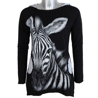 Damen Langarmshirt Tunika - Zebra - ALISTAR, ALISTAR