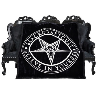 Fleece-Decke BLACK CRAFT - Pentagram, BLACK CRAFT