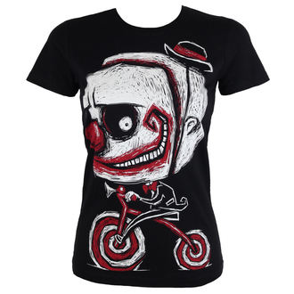 Damen T-Shirt - Creep The Clown - Akumu Ink, Akumu Ink
