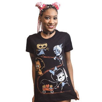 Damen T-Shirt - Off to See The Wizard - Akumu Ink, Akumu Ink