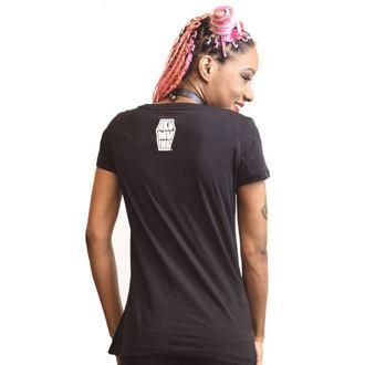 Damen T-Shirt - Work in Progress Scoop - Akumu Ink, Akumu Ink