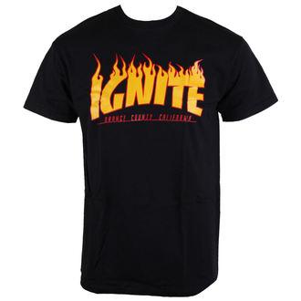 Herren T-Shirt Ignite - Skate - Bllack - BUCKANEER, Buckaneer, Ignite