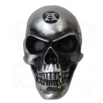Dekoration Skull ALCHEMY GOTHIC - Metalised Alchemist Skull, ALCHEMY GOTHIC