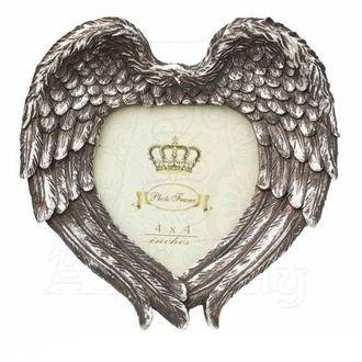 Dekoration Bilderrahmen ALCHEMY GOTHIC - Winged Heart (Wings Closed) - SA7