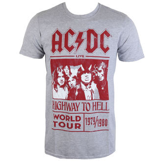 Herren Metal T-Shirt AC-DC - Highway To Hell World Tour 1979/80 - ROCK OFF, ROCK OFF, AC-DC