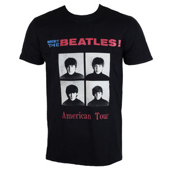 Herren Metal T-Shirt Beatles - American Tour 1964 - ROCK OFF, ROCK OFF, Beatles