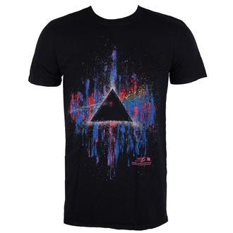 Herren T-Shirt Metal Pink Floyd - DSOTM Pink Splatter - ROCK OFF, ROCK OFF, Pink Floyd
