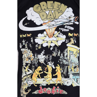 Herren T-Shirt Metal Green Day 1994 Tour - Black - ROCK OFF, ROCK OFF, Green Day